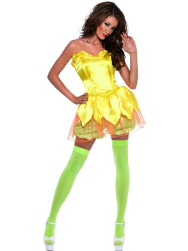 Daffodil Darling - Sexy Fancy Dress (Smiffys)